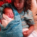 Big Brother Nash and Baby Elliott