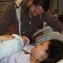 First family portrait April 1, 2012