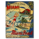 The Raders' Miami Beach Vacation 1960
