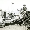 Robert Dunn's tractor