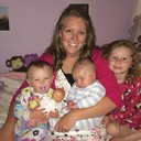 Debra Wilber Long and kids